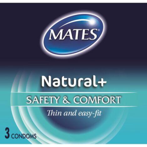 Mates Natural Condoms 3 Pack
