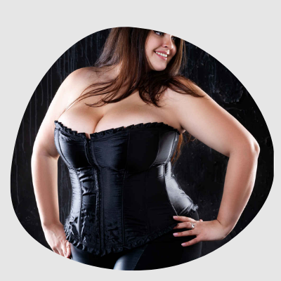 Plus Size Corset Secret Sinners